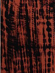 Relaxed Fit High Waist Crop Jogger - Gauze Orange Tie Dye, TIE DYE, alternate