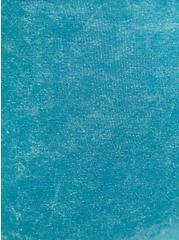 Washed Teal Bike Short, BLUE, alternate