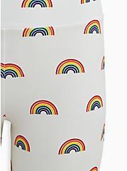 Celebrate Love Rainbow Print Bike Short, MULTI, alternate