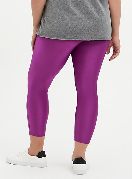Crop Premium Legging - Liquid Purple, PURPLE, alternate