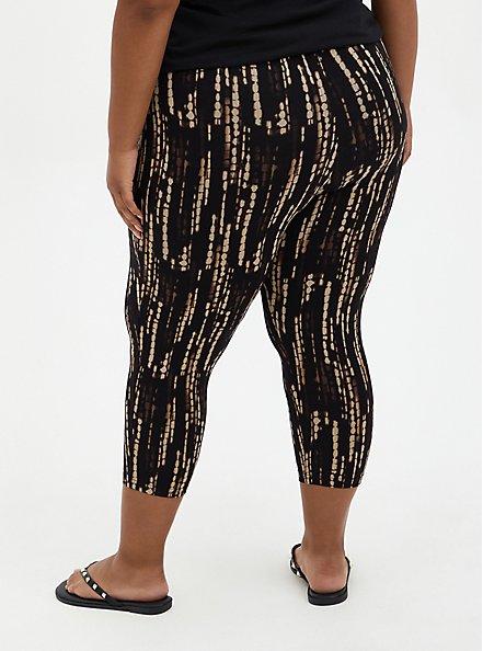 Capri Premium Legging - Ocean Dye Print, MULTI, alternate
