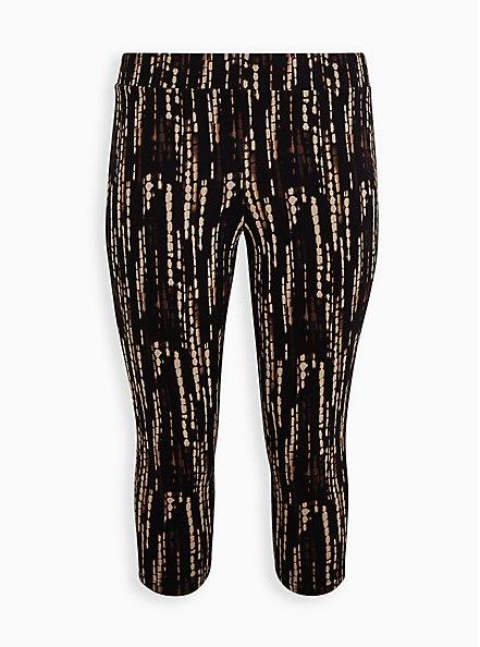 Capri Premium Legging - Ocean Dye Print, MULTI, hi-res
