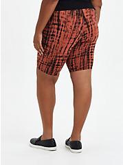 Bike Short - Striped Tie-Dye Auburn, TIE DYE, alternate