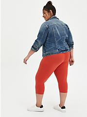 Capri Premium Legging - Orange, ORANGE, alternate