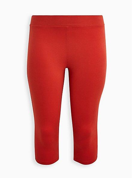 Capri Premium Legging - Orange, ORANGE, hi-res