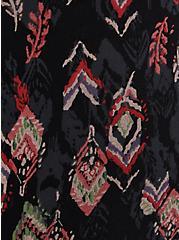 Premium Legging - Ikat Feather Print, MULTI, alternate