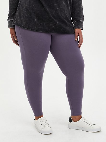 Premium Legging - Purple, PURPLE, alternate