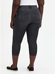 Crop Bombshell Skinny Jean - Super Soft Washed Black, , fitModel1-alternate