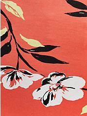Plus Size Sweetheart Fit & Flare Dress - Super Soft Coral Floral, FLORALS-CORAL, alternate