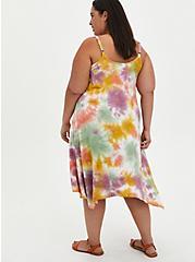 Jersey Handkerchief Dress - Multicolored Tie-Dye, TIE DYE, alternate