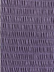 Tie-Front Skater Dress - Super Soft Purple Dip Dye, TIE DYE, alternate