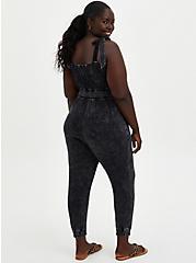 Jumpsuit - Super Soft Black Wash, TIE DYE-BLACK, alternate