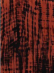 Trapeze Dress - Super Soft Rust Tie-Dye, TIE DYE STRIPE, alternate