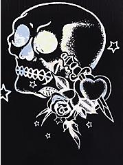Tattoo Skull Super Soft Sleep Legging With Pockets, MULTI, alternate