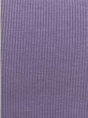 Sleep Tank - Super Soft Rib Purple, , alternate