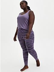 Sleep Legging With Pockets - Super Soft Washed Purple, MULTI, hi-res