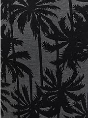 Charcoal Grey Palm Tree Micro Modal Sleep Bike Short, MULTI, alternate