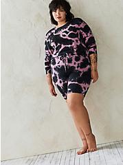Mauve Wash Micro Modal Sleep Sweatshirt, MULTI, alternate