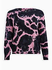 Mauve Wash Micro Modal Sleep Sweatshirt, MULTI, hi-res