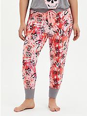 Pink Pineapple Sleep Legging, MULTI, alternate