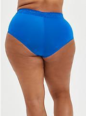 Second Skin Brief Panty - Blue , LAPIS BLUE, alternate
