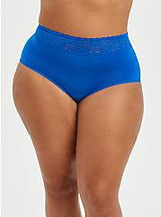 Second Skin Brief Panty - Blue , LAPIS BLUE, hi-res