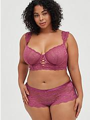 Cheeky Panty - Lace Pink, VIOLET QUARTZ, alternate