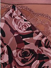 High Waist Panty - Microfiber Camo Rose, ROSEY CAMO, alternate