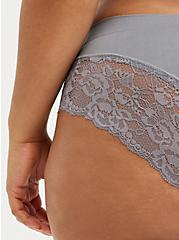 Seamless Flirt Hipster Panty - Lace Silver, SILVER FILAGREE, alternate