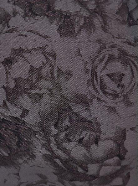 Second Skin Brief Panty - Roses Black, BED OF ROSES, alternate
