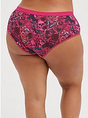 Plus Size Cheeky Panty - Cotton Tattoo Pink, TATTOO SINK, alternate