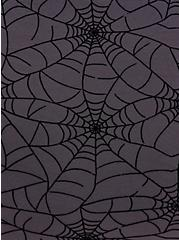 Underwire Chemise - Mesh Webs Black, RICH BLACK, alternate