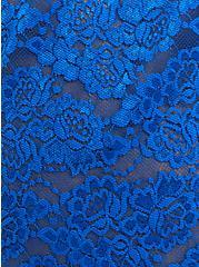 Plus Size Lace Babydoll - Blue, LAPIS BLUE, alternate