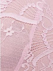 Plus Size Open Neck Halter Babydoll Top - Lace Lilac, FRAGRANT LILAC, alternate