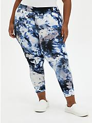 Crop Premium Legging - Ash Tie Dye, TIE DYE, alternate