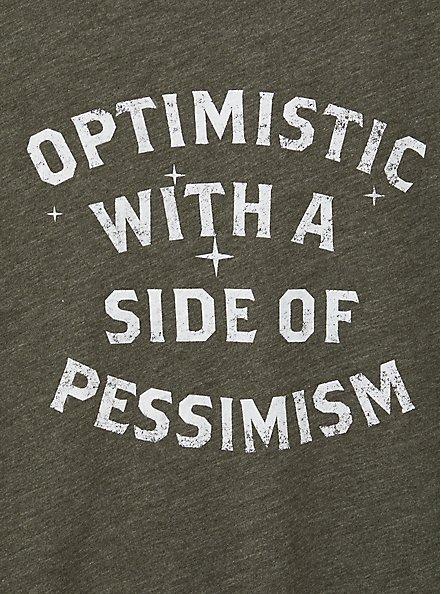 High Neck Tank - Triblend Jersey Optimistic Pessimistic Olive, DEEP DEPTHS, alternate
