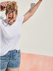 Vintage Tee - Triblend Jersey White, BRIGHT WHITE, hi-res