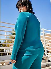 Teal Cupro Active Sweatshirt, GULF COAST, alternate
