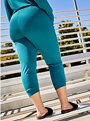 Classic Fit Teal Active Cupro Jogger, GULF COAST, alternate