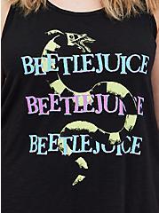 Beetlejuice Coffin Sleep Tank, DEEP BLACK, alternate