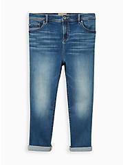 Crop Midfit Super Skinny Jean - Super Soft Medium Wash, LONGSHORE, hi-res