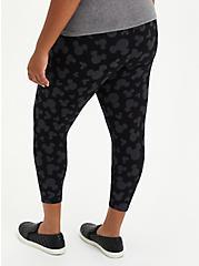 Disney Mickey Mouse Crop Legging, DEEP BLACK, alternate