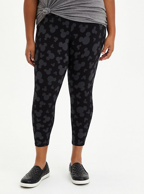 Disney Mickey Mouse Crop Legging, , hi-res