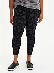 Disney Mickey Mouse Crop Legging, DEEP BLACK, hi-res