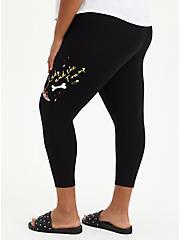 Disney Lady & The Tramp Crop Legging, DEEP BLACK, alternate