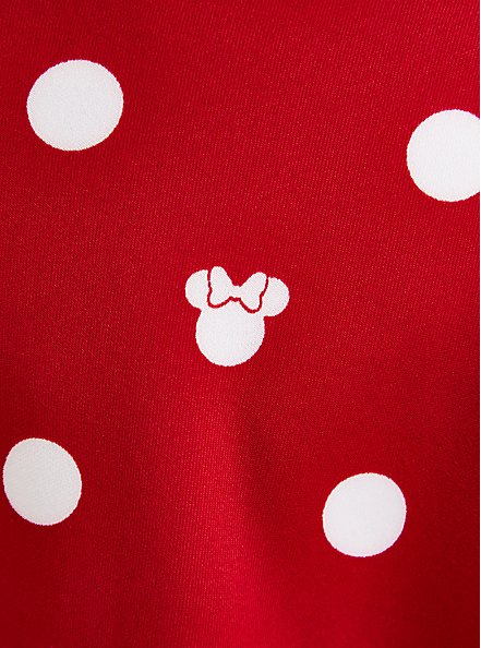 Disney Minnie Mouse Red & White Dot Scuba Skirt, MINNIE MOUSE DOT, alternate