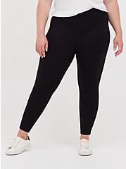 Beetlejuice Slim Fix Pixie Legging, DEEP BLACK, alternate