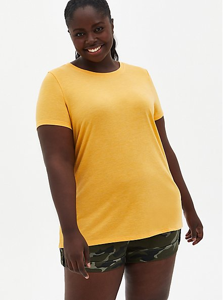 Everyday Tee - Signature Jersey Yellow , OLD GOLD, alternate
