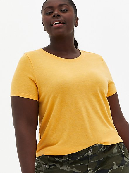 Everyday Tee - Signature Jersey Yellow , OLD GOLD, hi-res