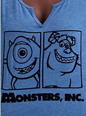 Disney Monsters Inc Mike & Sulley Top, TRUE BLUE, alternate